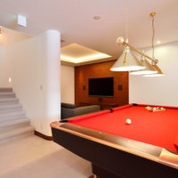 Kokoro's billiards table.